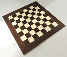 Montgoy Palisander And Maple Chess Board With Coordinates, Made in Spain