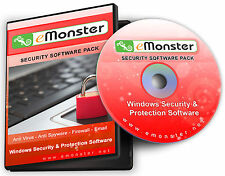 Internet Security Software Disc & Case - Anti Virus