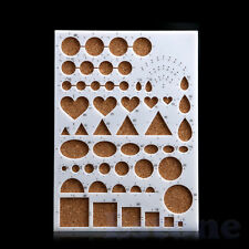 Paper Quilling Template Board Papercraft DIY Tool Scrapbooks 210mm*150mm*8mm New