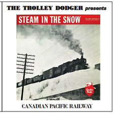 Steam in the Snow - Vintage 1950s Audio CD - Canadian Pacific Railway