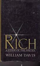 THE RICH A STUDY OF THE SPECIES WILLIAM DAVIS RICH PEOPLE MILLIONAIRES WEALTHY