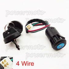 4 Wire On Off Ignition Key Switch For Chinese 50 70cc 90cc 110cc 125cc Quad ATV