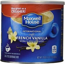 Maxwell House International Cafe French Vanilla 29oz Can - FREE SHIPPING!