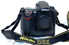 Nikon D D3x LOW SHUTTER 15783 COUNT BATTYERY/CHARGER