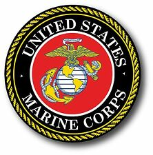 """U.S. Marine Corps Seal Car Truck Decal 3.5"""" USMC The Best In Quality Of eBay!"""
