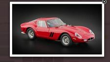 FERRARI 250 GTO BERLINETTA 1962 in red by CMC 1:18 brand new model