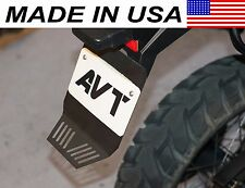 AVT BMW F650GS Twin / F700GS / F800GS Rear Fender Extender / Mud Flap BLACK