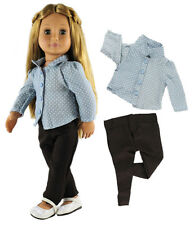 "Doll Clothes for 18"" American Girl Doll Handmade wear clothes 13"
