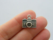 8 Camera charms tibet silver P203