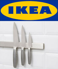 IKEA Grundtal Stainless Steel Magnetic Kitchen Knife Wall Rack Tool Holder NEW