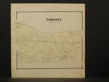 New York, Schoharie County Map, 1866, Carlisle Township Z4#54