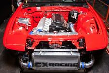 CXRacing Turbo FMIC Intercooler Kit For 240SX S13 S14 S15 RB20 RB25 Engine Swap