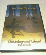 NORTH TO FREEDOM THE UNDERGROUND RAILROAD TO CANADA DVD