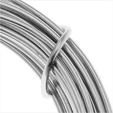 Artistic Wire, Aluminum Craft Wire 12 Gauge Thick, 12 Meter, Natural Aluminum