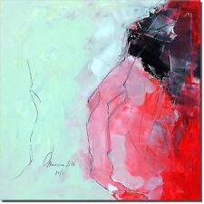 Handgemalt von Künstler - UNIKAT Acryl Bilder Gemälde Kunst abstrakt DESIGN