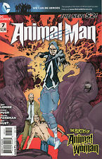Animal Man #7 (NM) `12 Lemire/ Foreman/ Pugh