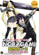 DVD Noragami Season 1 + 2 Complete Box Set