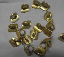 5pcs Alto sax repair parts Brass unpainted