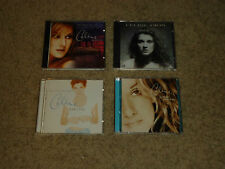 CELINE DION 4 CD Lot - ALL THE WAY, FALLING YOU, UNISON, MY HEART WILL GO ON