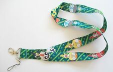 Anime Keroro Gunso Sgt. Frog & Characters Green Color Lanyard Key Chain ~Giroro