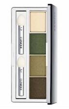 New CLINIQUE All About Eye Shadow Quad 05 On Safari 2A Lemongrass 07 Buttered