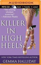 High Heels Mysteries: Killer in High Heels 2 by Gemma Halliday (2014, MP3 CD,...