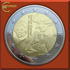 """2 Euro Gedenkmünze Niederlande 2011 """" Erasmus von Rotterdam """" bankfrisch"""