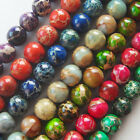 """Sea Sediment Jasper Round Loose Beads 15.5"""" 4mm/6mm/8mm/10mm,7 Color For Choice!"""