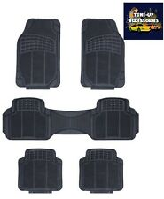 HEAVY DUTY RUBBER FLOOR MATS 5 PIECE - NISSAN PATHFINDER 05-ON