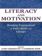 Literacy and Motivation: Reading Engagement in individuals and Groups-ExLibrary