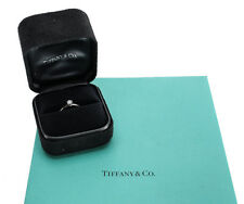 Tiffany & Co .24ct Round Diamond Solitaire Ring. D Color VS1 Platinum Band