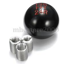 Universal Car Aluminum 5 Speed Manual Gear Stick Shift Knob Lever Shifter Black