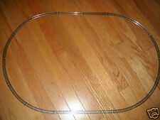 "MODEL POWER ""N"" SCALE SET OF OVAL TRAIN TRACK ABOUT 30 X 20 INCHES (NEW)"
