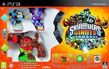 PS3 Game Skylanders Giants Starter Pack incl. 3 Figures & Magical Portal NEW