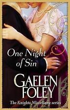 One Night Of Sin: The Knight Miscellany Series: Book 6, Gaelen Foley, Paperback,