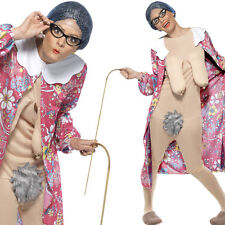 Granny Costume - Comedy Hen / Stag Fancy Dress Outfit - Funny Rude Old Lady