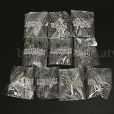 200pcs 10Value 910ohm~1M 1W 1Watt Carbon Film Resistor Resistance Assortment Kit