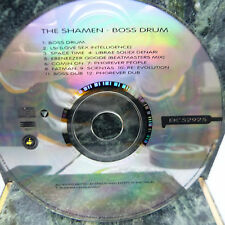 MUSIC CD:  BOSS DRUM by THE SHAMEN, VG CONDITION, FREE SHIPPING