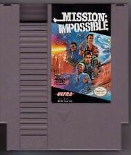 MISSION IMPOSSIBLE ORIGINAL CLASSIC NINTENDO GAME ORIGINAL NES HQ