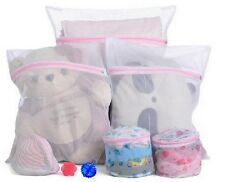 3pcs/set Mesh Laundry Clothes Underware Bra Lingerie Washing Machine Zipper Bags