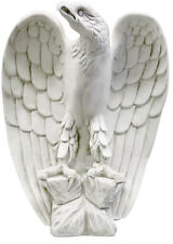 "Eagle statue Facing Left Statue Sculpture 18"" for Home or Garden"