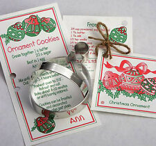 ANN CLARK~CHRISTMAS ORNAMENT~ tin cookie cutter~MADE IN USA (NEW)