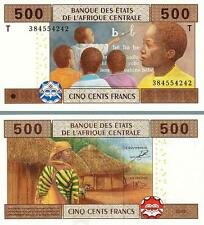 CENTRAL AFRICAN STATES CONGO REP 500 FRANCS 2002 UNC P-106T