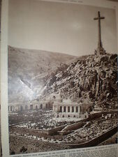 Photo article Spain General Franco memorial valley of the fallen nr Madrid 1959