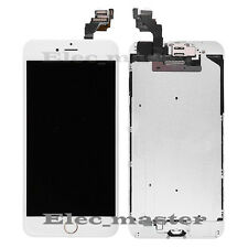"""For iPhone 6 Plus 5.5"""" LCD Touch Screen Digitizer Display White+Gold Home Button"""