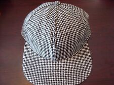 CHRISTMAS SURF SKATE golf   PLAID BLANK DEADSTOCK  HAT CAP VINTAGE SNAPBACK
