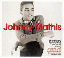 THE BEST OF JOHNNY MATHIS - 50 ORIGINAL RECORDINGS (NEW SEALED 2CD)