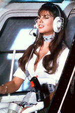 Caroline Munro flys helicopter Spy Who Loved Me 11x17 Mini Poster