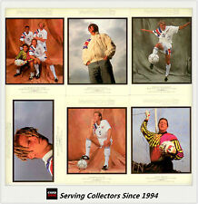 1994 UD World Cup U.S.A Soccer Trading Card Gallery Card Full Set (6 carrds)