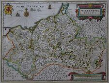 Meklenburg ducatus - Mecklenburg von Matthäus Merian - 1645